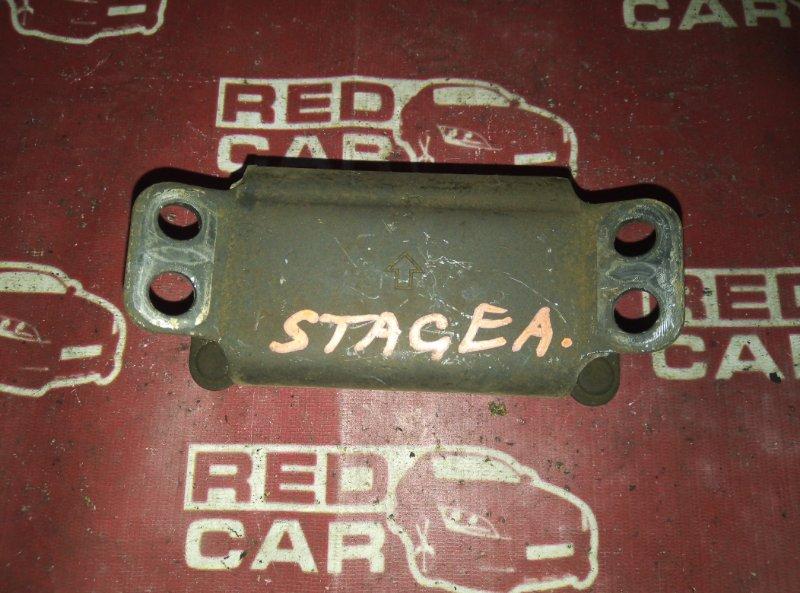 Подушка кпп Nissan Stagea WGNC34 RB25 (б/у)