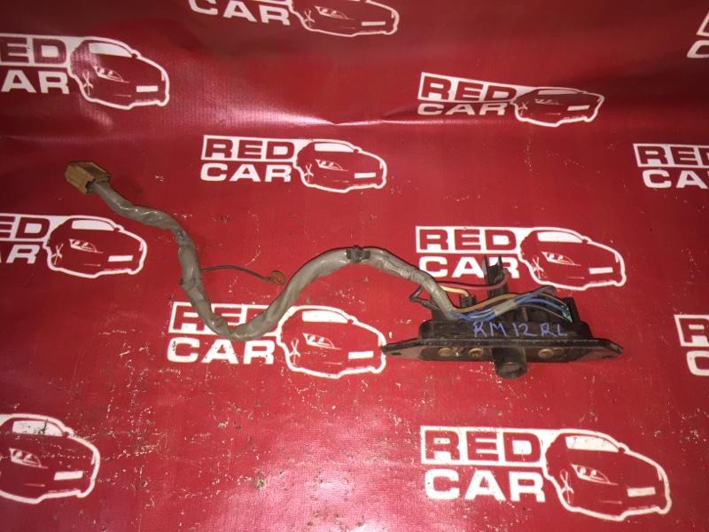 Контактная группа сдвижной двери Nissan Liberty RM12 QR20 задняя левая (б/у)