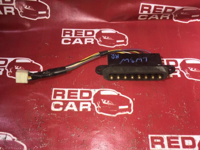 Контактная группа сдвижной двери Mazda Mpv LW3W L3 задняя правая (б/у)