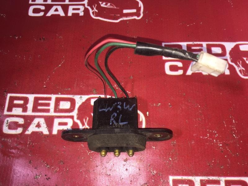 Контактная группа сдвижной двери Mazda Mpv LW3W L3 задняя левая (б/у)