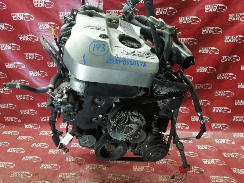 Двигатель Nissan Elgrand ATWE50-031295 ZD30-052057A 2000 (б/у)