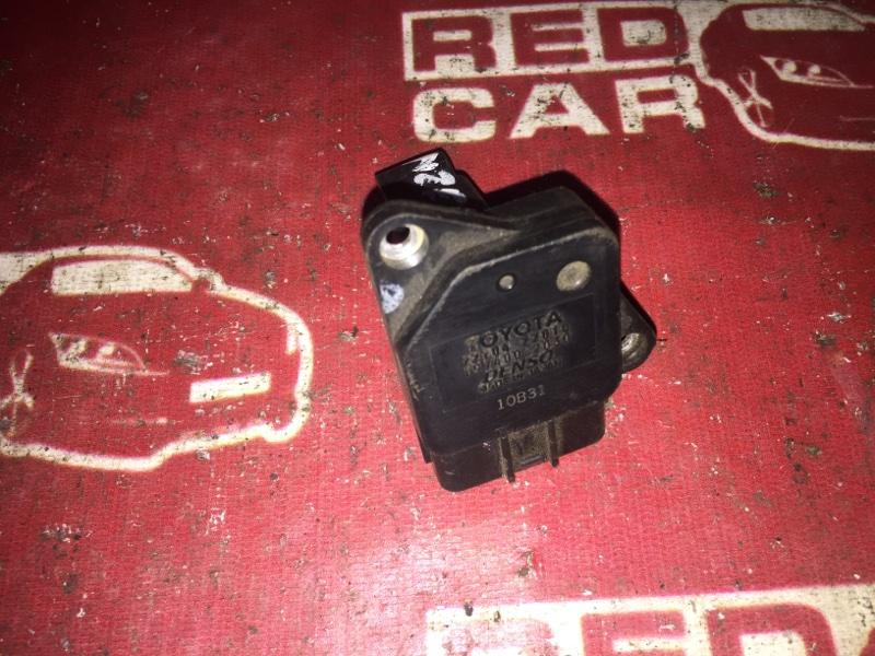 Датчик расхода воздуха Toyota Corolla Runx ZZE122 1ZZ (б/у)