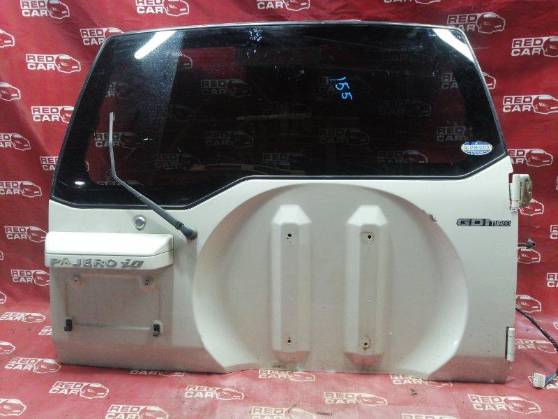 Дверь задняя Mitsubishi Pajero Io H76W-5500231 4G93 2004 (б/у)