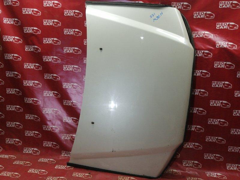 Капот Mitsubishi Pajero Io H76W-5500231 4G93 2004 (б/у)