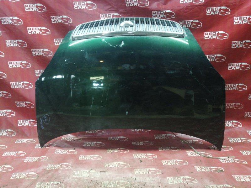 Капот Toyota Vitz NCP10-0045592 2NZ 2000 (б/у)