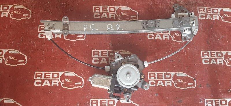 Стеклоподъемник Nissan Primera WTP12 задний правый (б/у)