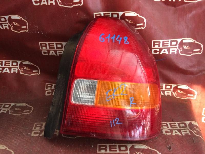 Стоп-сигнал Honda Civic EK2-1111983 D13B 1997 правый (б/у)