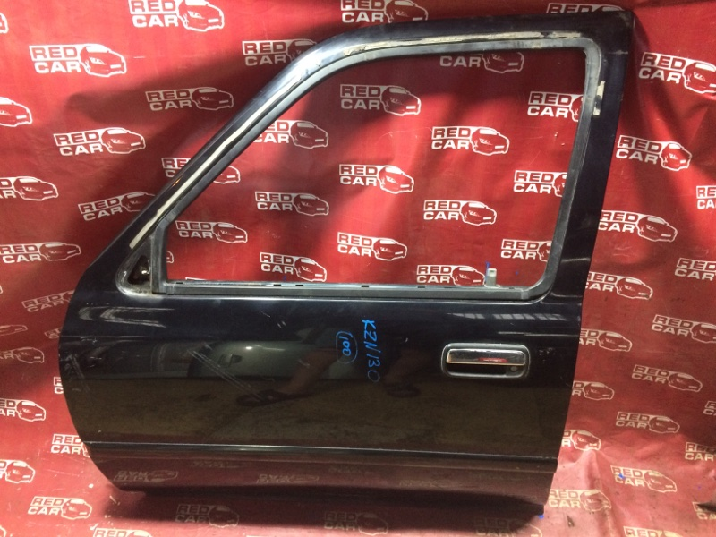 Дверь Toyota Hilux Surf KZN130-9063606 1KZ 1995 передняя левая (б/у)