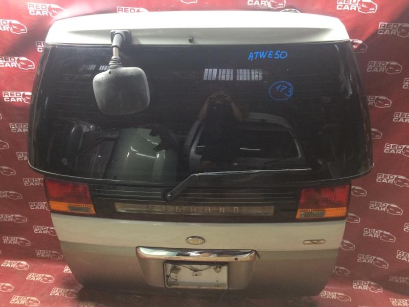 Дверь задняя Nissan Elgrand ATWE50-031295 ZD30-052057A 2000 (б/у)