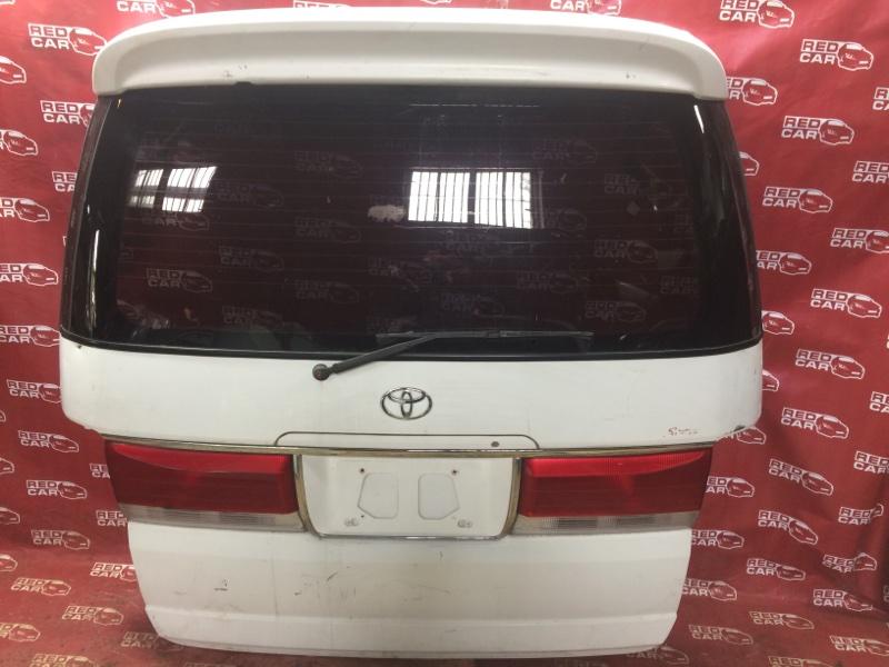 Дверь задняя Toyota Hiace Regius RCH47 (б/у)