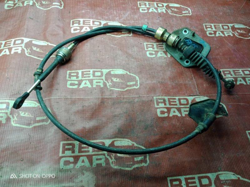 Трос переключения акпп Nissan Sunny FB15-382773 QG15-405967A 2003 (б/у)