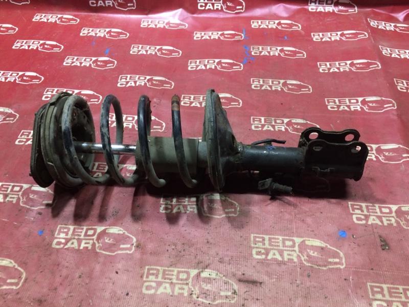 Стойка Toyota Estima CXR20-0042752 3C-2498338 1993 передняя левая (б/у)