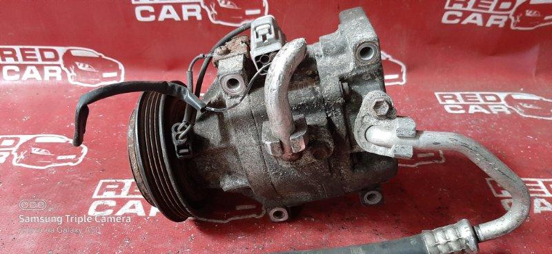 Компрессор кондиционера Toyota Vitz SCP10 1SZ-FE (б/у)