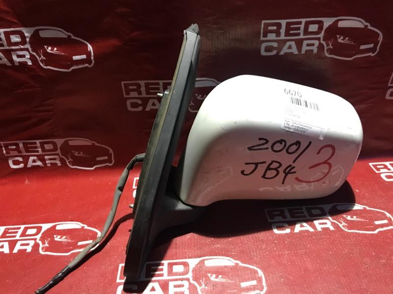 Зеркало Honda Mobilio JB4 переднее левое (б/у)
