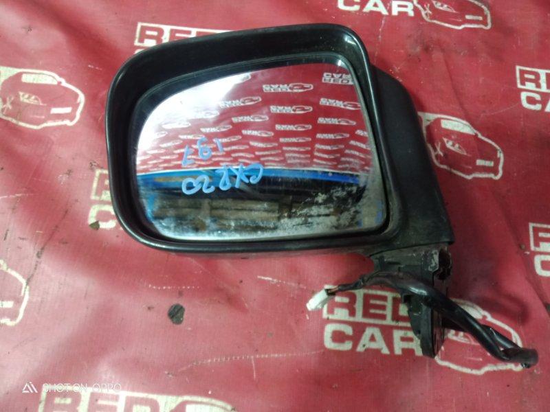 Зеркало Toyota Estima CXR20-0042752 3C-2498338 1993 переднее левое (б/у)