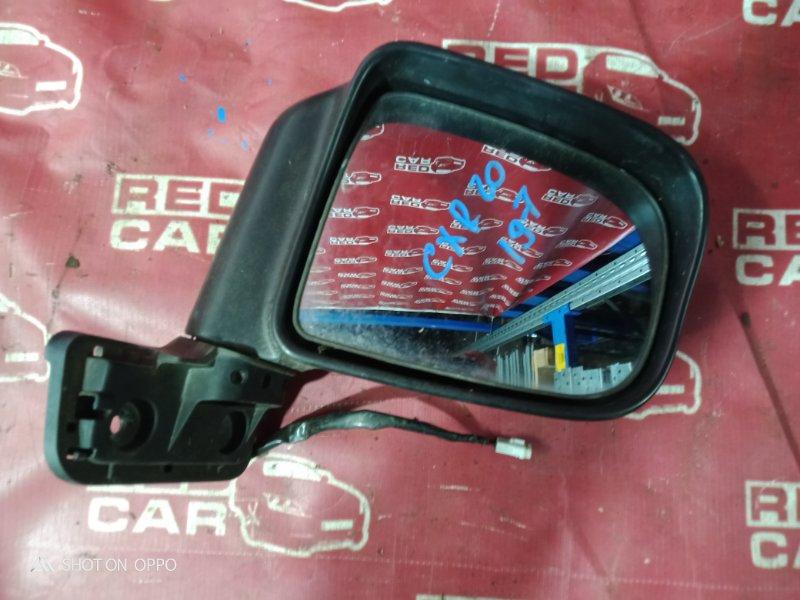 Зеркало Toyota Estima CXR20-0042752 3C-2498338 1993 переднее правое (б/у)