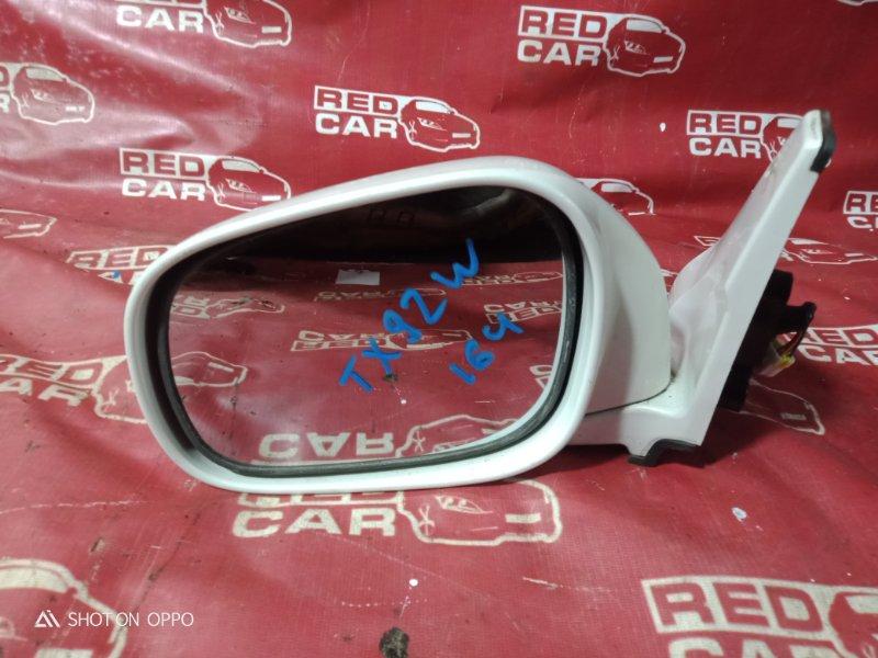 Зеркало Suzuki Grand Escudo TX92W-100548 H27A 2001 переднее левое (б/у)