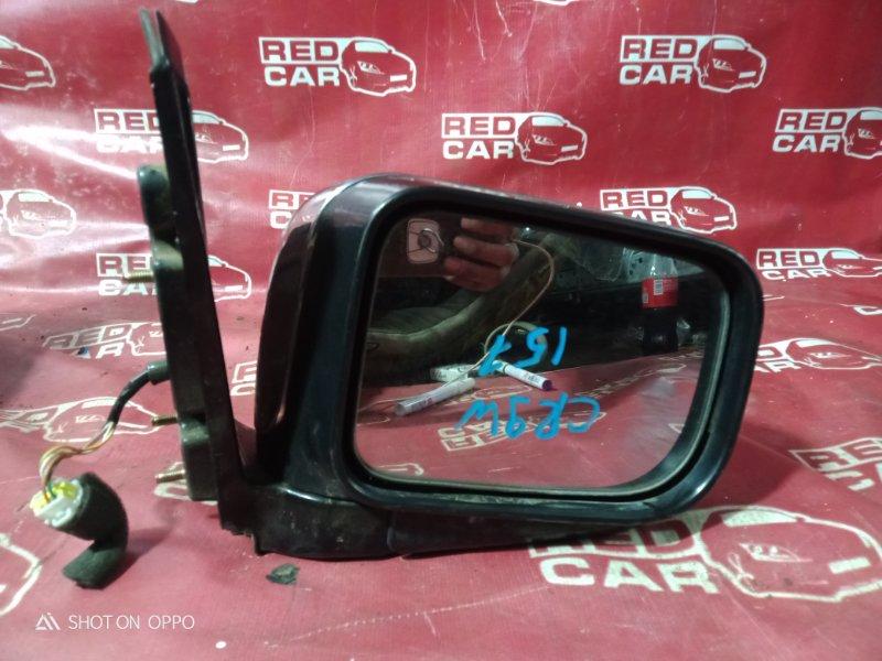 Зеркало Mitsubishi Dion CR9W-0104378 4G63 2000 переднее правое (б/у)