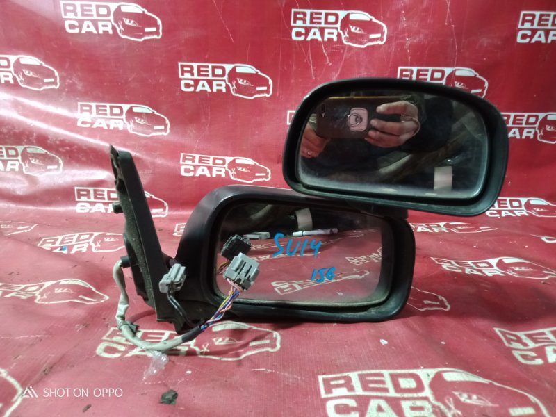 Зеркало Nissan Bluebird SU14-105851 CD20 1999 переднее правое (б/у)
