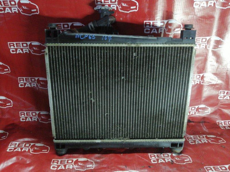 Радиатор основной Toyota Ist NCP65-0012522 1NZ 2002 (б/у)