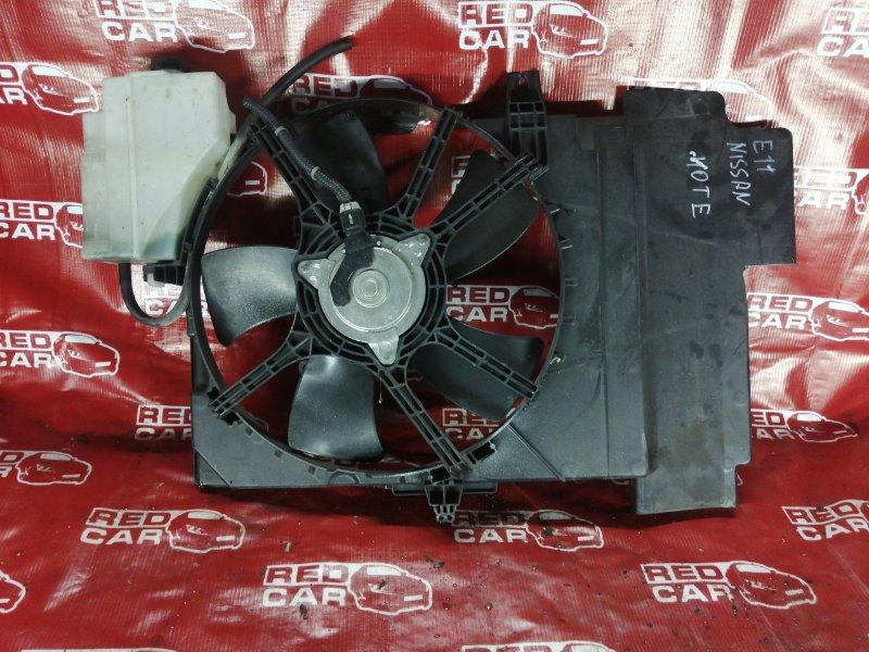 Диффузор радиатора Nissan Note E11 (б/у)