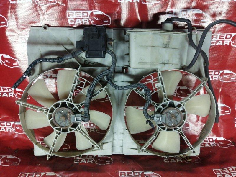 Диффузор радиатора Toyota Alphard ANH15-0016419 2AZ 2003 (б/у)