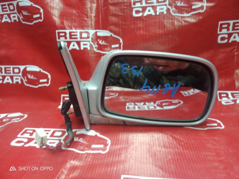Зеркало Toyota Sprinter Carib AE114-7014154 4A 2000 переднее правое (б/у)
