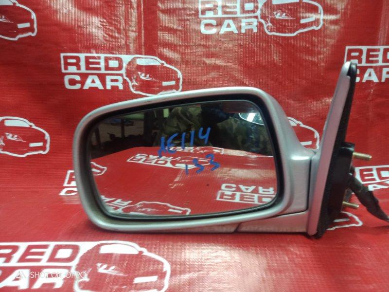 Зеркало Toyota Sprinter Carib AE114-7014154 4A 2000 переднее левое (б/у)