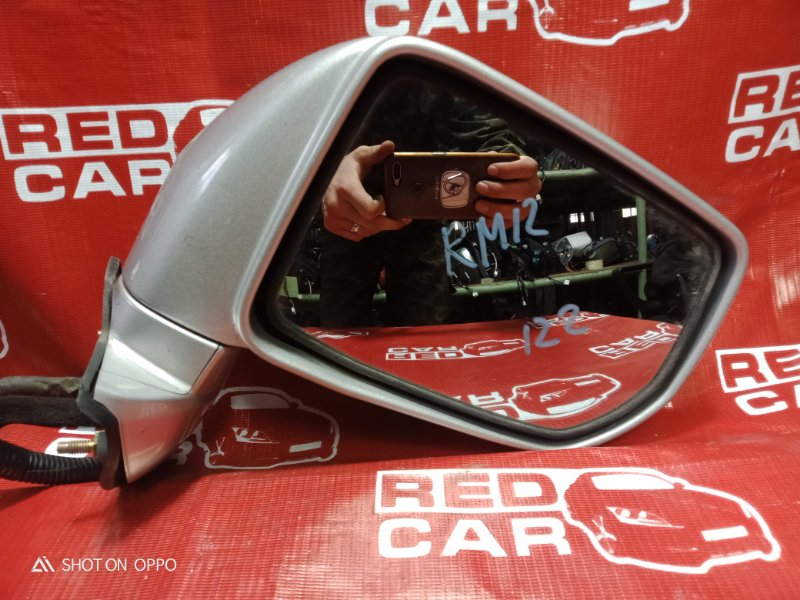 Зеркало Nissan Liberty RM12-005710 QR20 2001 переднее правое (б/у)