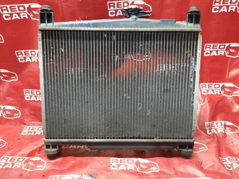 Радиатор основной Toyota Vitz SCP10-3114731 1SZ-0195809 1999 (б/у)