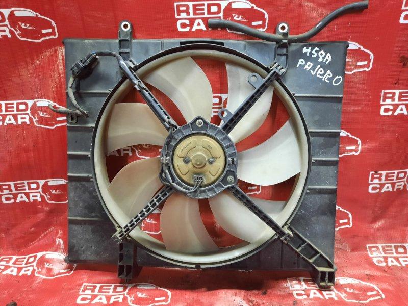 Диффузор радиатора Mitsubishi Pajero Mini H58A (б/у)