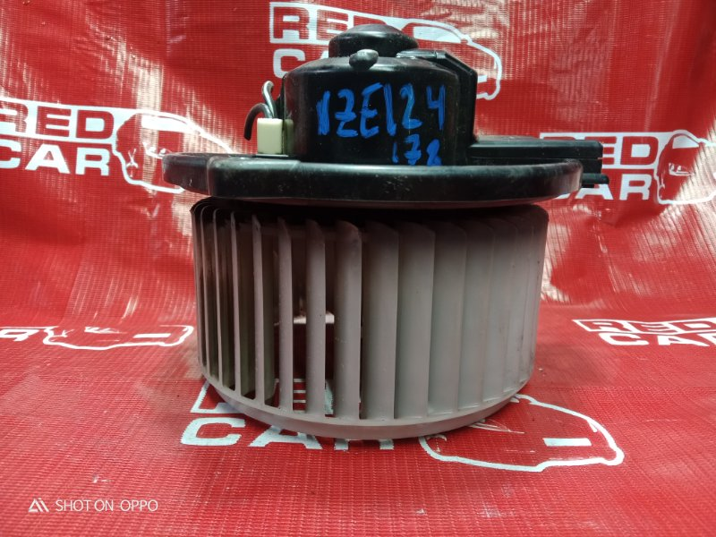 Мотор печки Toyota Corolla Fielder NZE124-0051696 1NZ-B624338 2005 (б/у)