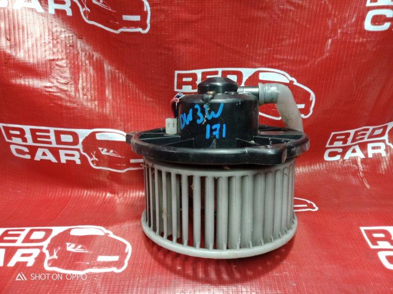 Мотор печки Mazda Demio DW3WF-115832 B3-588838 1998 (б/у)
