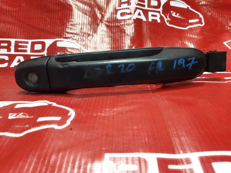 Ручка двери внешняя Toyota Estima CXR20-0042752 3C-2498338 1993 передняя правая (б/у)