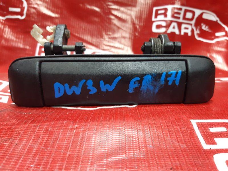 Ручка двери внешняя Mazda Demio DW3WF-115832 B3-588838 1998 передняя правая (б/у)