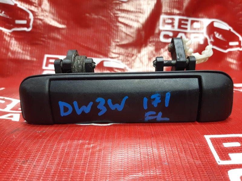 Ручка двери внешняя Mazda Demio DW3WF-115832 B3-588838 1998 передняя левая (б/у)