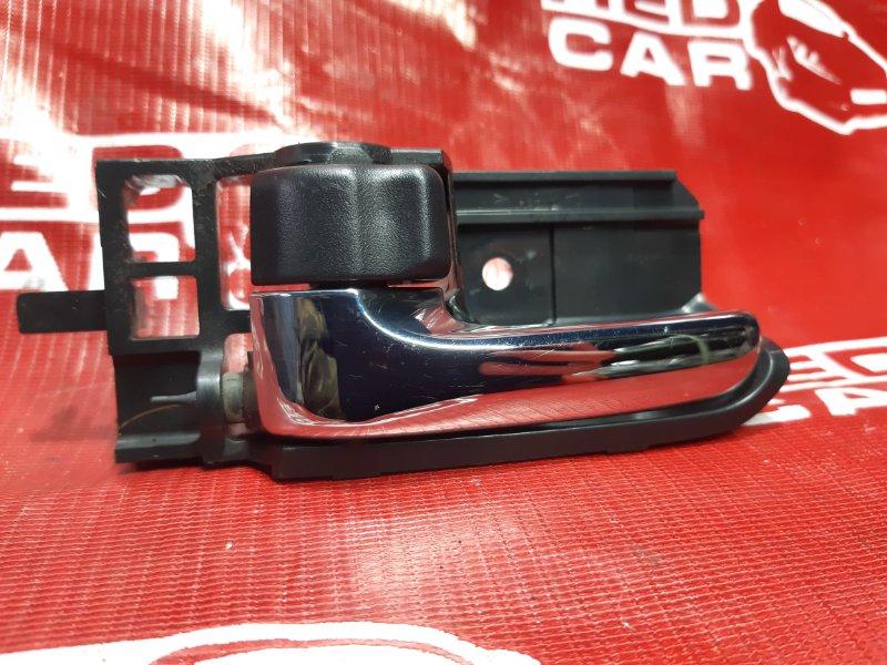 Ручка двери внутренняя Toyota Corolla Fielder NZE124-0051696 1NZ-B624338 2005 передняя левая (б/у)