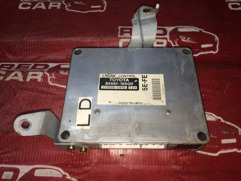 Компьютер Toyota Corsa EL53-0371528 5E-1343230 1999 (б/у)