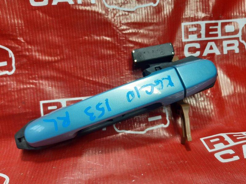 Ручка двери внешняя Toyota Passo KGC10-0051246 1KR 2005 задняя левая (б/у)