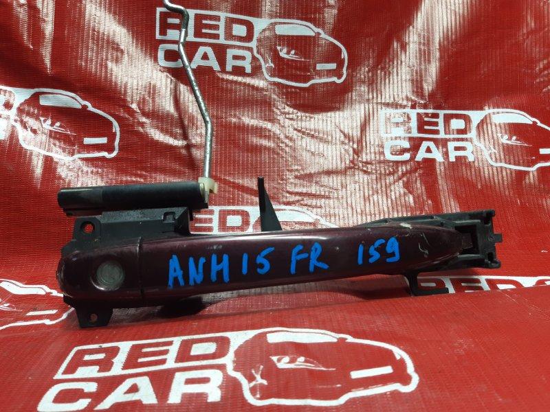 Ручка двери внешняя Toyota Alphard ANH15-0016419 2AZ 2003 передняя правая (б/у)