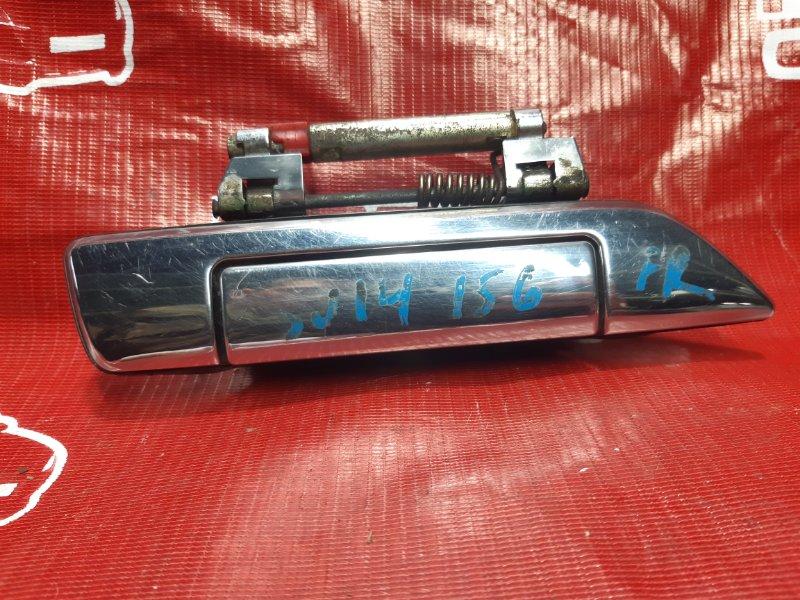 Ручка двери внешняя Nissan Bluebird SU14-105851 CD20 1999 передняя правая (б/у)
