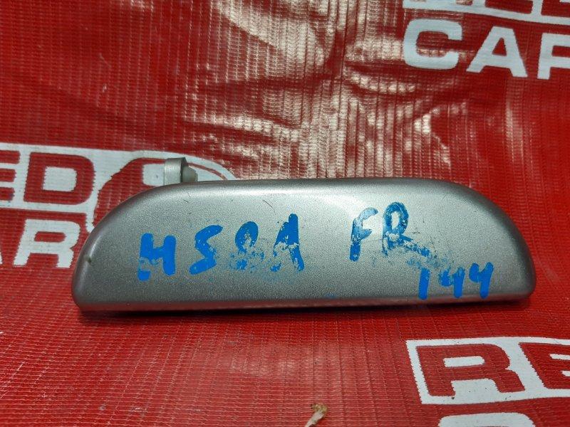 Ручка двери внешняя Mitsubishi Pajero Mini H58A-0407550 4A30 2003 передняя правая (б/у)