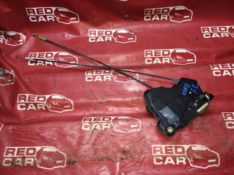Замок двери Toyota Passo KGC10 передний правый (б/у)