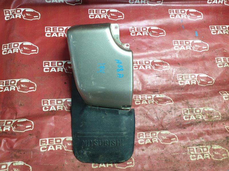 Брызговики комплект Mitsubishi Pajero Mini H58A-0407550 4A30 2003 задние (б/у)