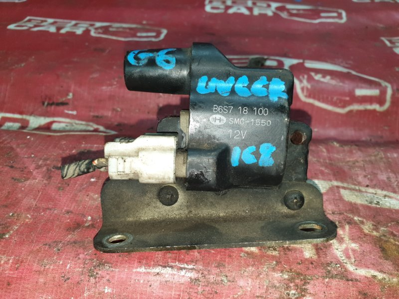 Катушка зажигания Mazda Proceed UV66R-102864 G6 1992 (б/у)
