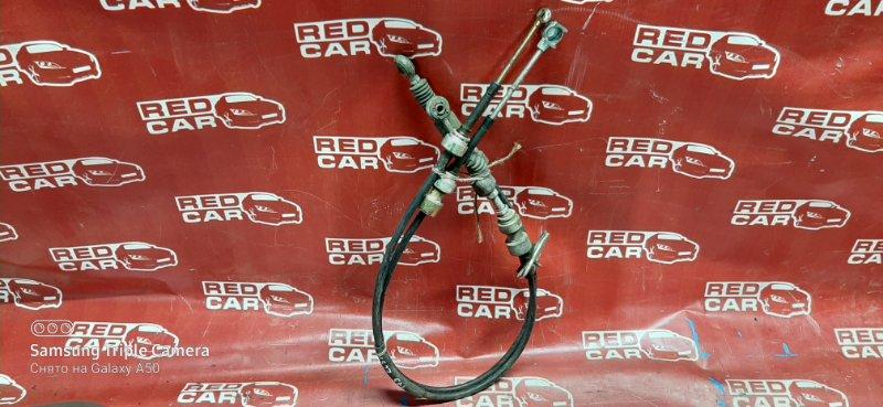 Трос переключения кпп Toyota Corsa EL53-0371528 5E-1343230 1999 (б/у)