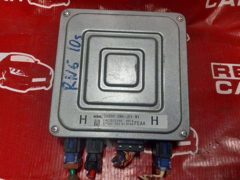 Блок управления рулевой рейкой Honda Stream RN6-1011525 R18A 2006 (б/у)