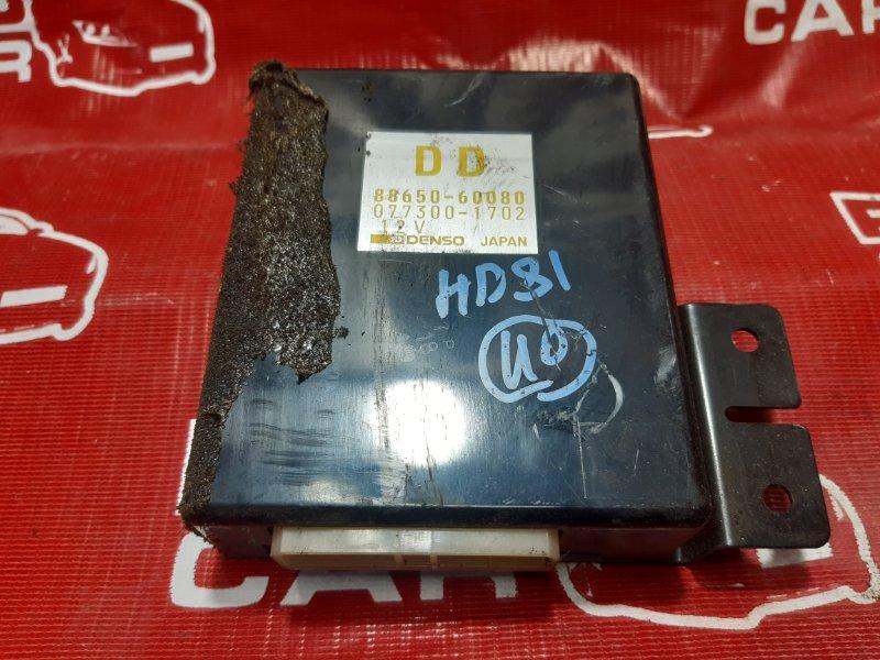 Блок управления климат-контролем Toyota Land Cruiser HDJ81-0047581 1HD 1994 (б/у)