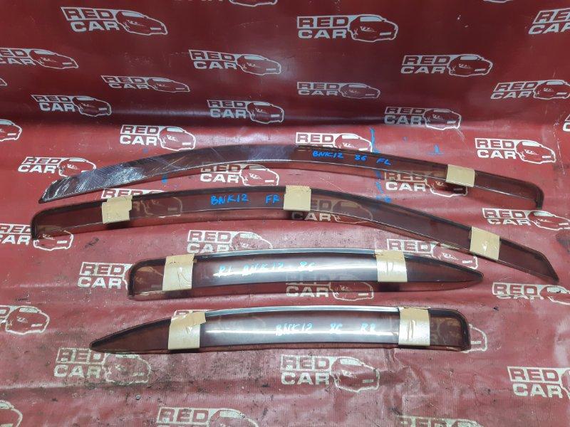 Ветровики комплект Nissan March BNK12-010857 CR14 2003 (б/у)