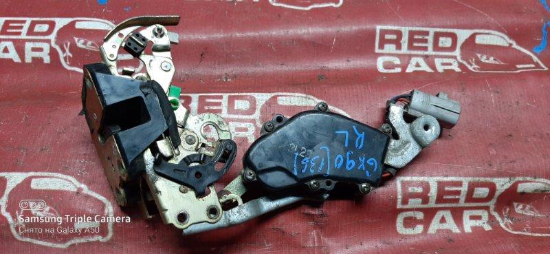 Замок двери Toyota Mark Ii GX90-654396 1G 1993 задний левый (б/у)